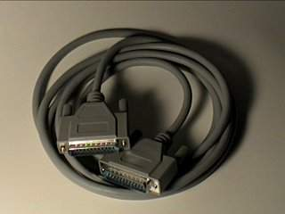 PARALLEL DB25-M DB25-M DATA TRANSFER 8FT Cable
