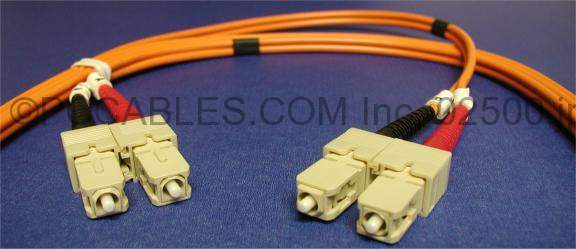 SC-SC FIBER OPTIC 1Meter 62.5/125UM Duplex Multimode