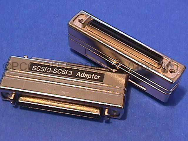SCSI-III HPDB68-F to HPDB68-F Latch and TS Adapter MD68
