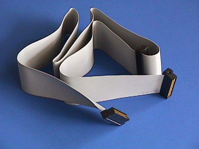 SCSI RIBBON CABLE INTERNAL ULTRA WIDE 30IN UWIDC68 2-DEVICE