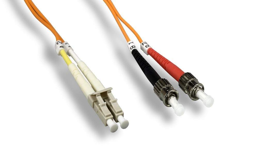 ST-LC FIBER OPTIC 1Meter 62.5/125UM Duplex Multimode