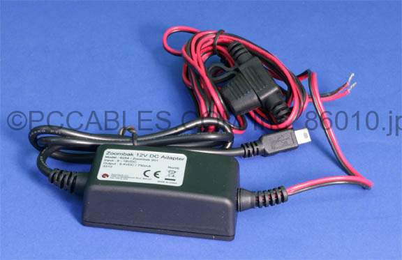 Step Down Transformer 12V-DC to 5V-DC 750 mA Mini-B