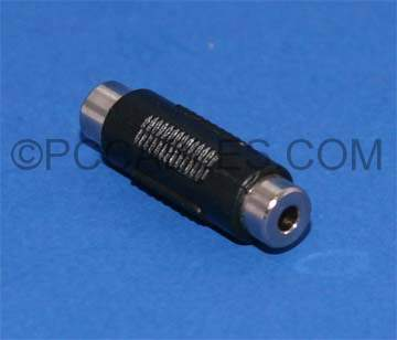 TRS 3.5mm coupler F-F Adapter Stereo