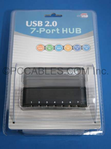 USB 2.0 7-Port Powered Hub