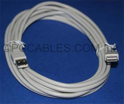 USB 2.0 CABLE TYPE A-Male to TYPE A-Male CABLE 15FT