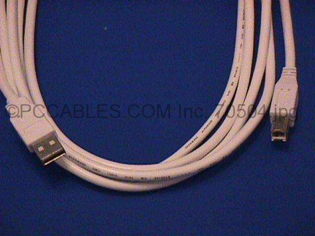 USB 2.0 Cables Type-A to Type-B 10 Feet 10FT