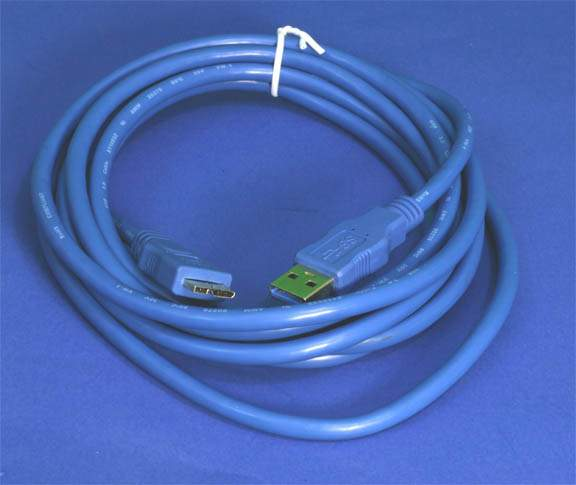 USB 3.0 SuperSpeed Micro-B Cable 10FT