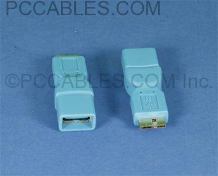 USB 3.0 A-Female to USB Micro-B 3.0 Male Adapter