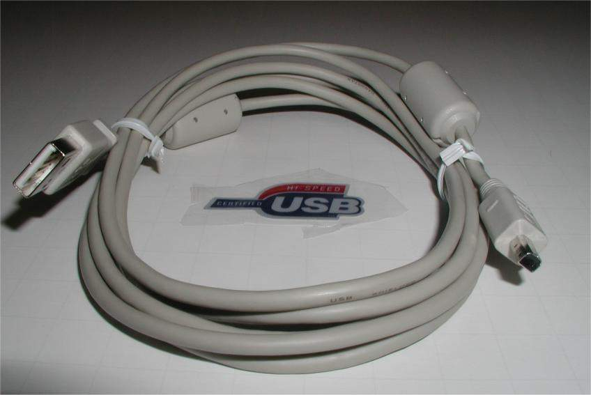 USB CAMERA CABLE 4-Wire MINOLTA DCUP-2 6FT