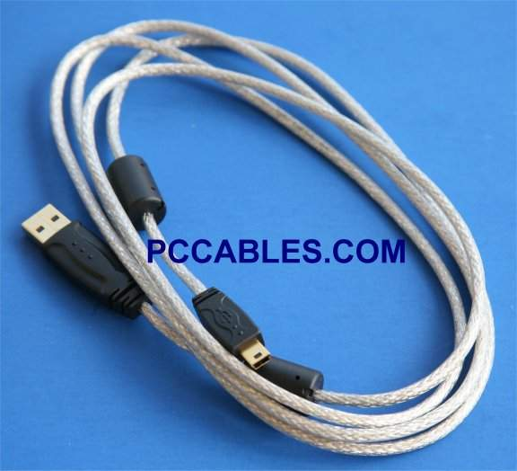 USB GPS CABLE MINI-B 5-Wire for GARMIN 010-10477-03
