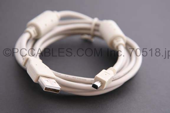 USB Camera Cable 4-Wire D2 6 Feet