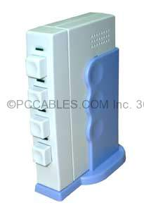 USB SWITCH PUSH BUTTON MANUAL ABCD 1A-4B