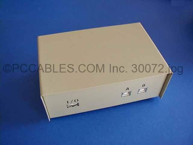 USB SWITCH Push Button AB 1A-2B
