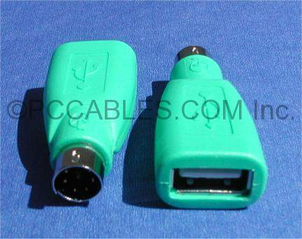USB TYPE A Female to PS/2 Mini DIN6 Male MOUSE ADAPTER