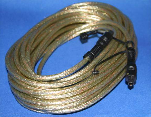10 Meter DIGITAL OPTICAL Audio Cable TOSLINK PREMIUM