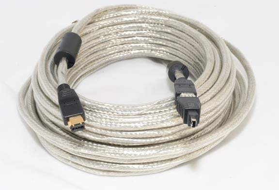 10 Meter Firewire Cable 6PIN 4PIN with Adapter 1394a 33FT