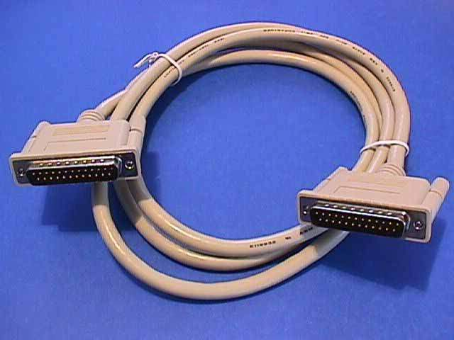 10FT DB25-M to DB25-M IEEE-1284 Cable