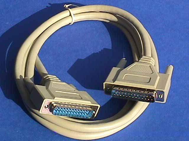 10FT DB25-M to DB25-M Cable