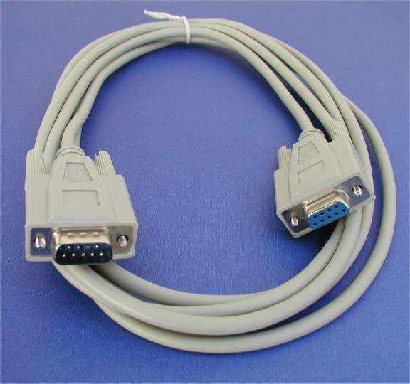 10FT DB9M to DB9F SERIAL Cable
