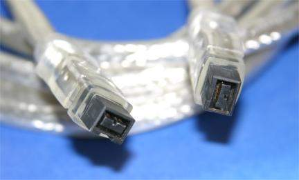 10FT FIREWIRE 1394B BILINGUAL CABLE SILVER 9PIN 9PIN