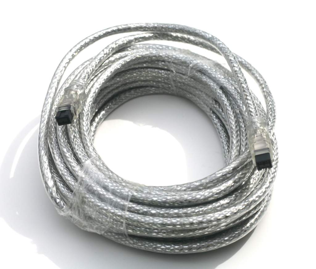 10M Firewire 9p 9p Cable 33 Feet 10 Meter Silver 9PIN 9PIN 1394B