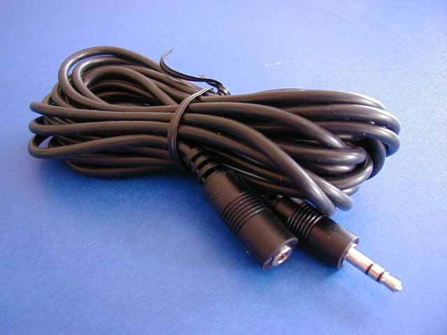 12FT STEREO SPEAKER EXTENSION CABLE 3.5mm PLUG JACK Male to Female 12FT