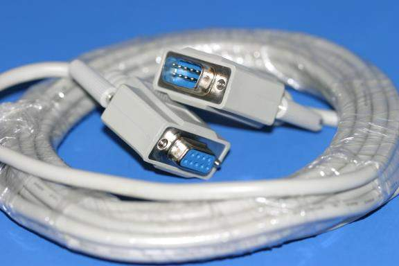 15FT DB9M to DB9F SERIAL CABLE
