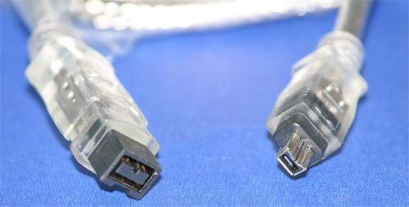 15FT FIREWIRE 1394B BILINGUAL CABLE SILVER 9PIN 4PIN