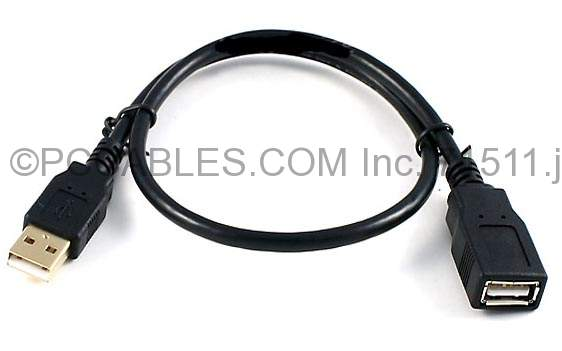 Usb Extension Cord : Ft usb extension cable type a male to female