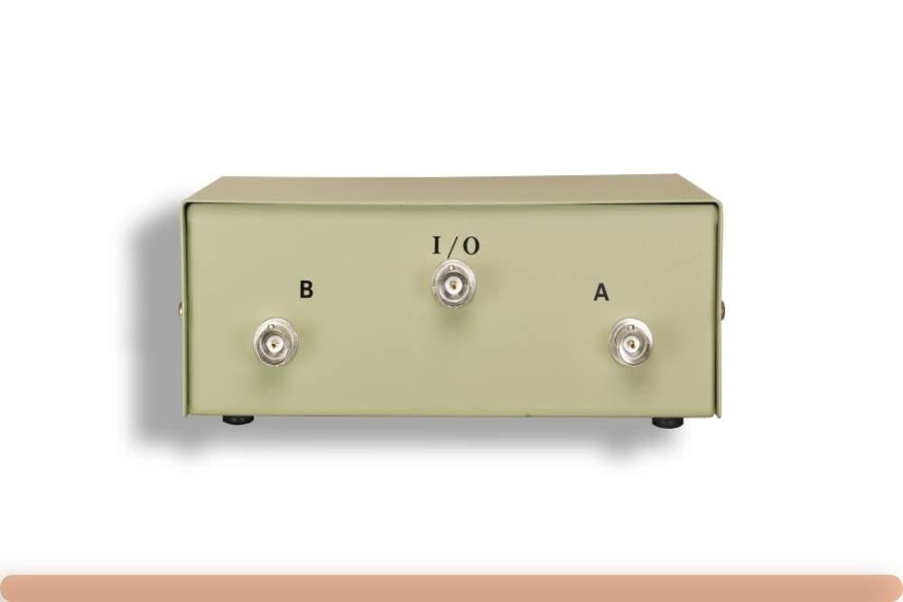 2-Way BNC Manual Data Switch