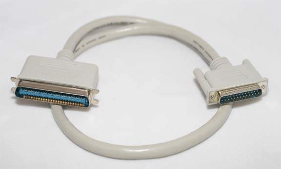 2.5FT SCSI-I CN50-M TO DB25-M Cable