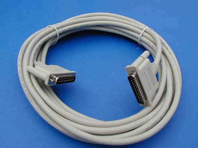 25FT DB25-M to DB25-M IEEE-1284 Cable