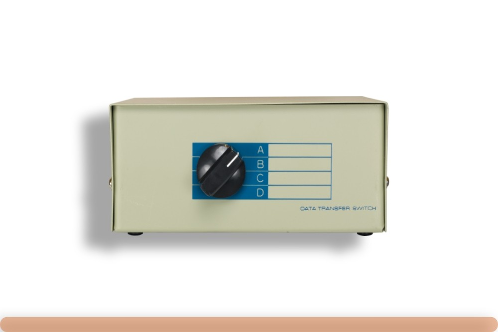 DB25 ABCD Switch Box Front
