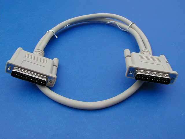 3FT DB25-M to DB25-M IEEE-1284 Cable