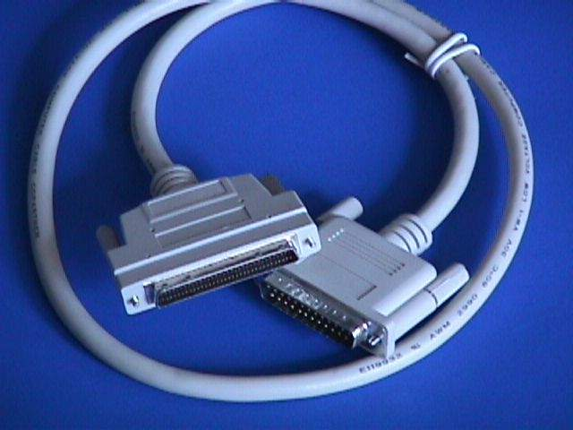 3FT SCSI-III HPDB68-M TS to DB25-M Cable
