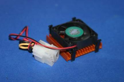 486 CPU FAN 4-WIRE BALL BEARING SOCKET-3