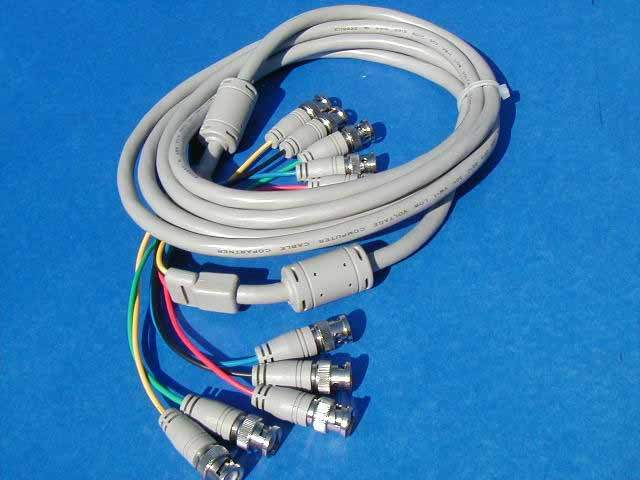 5 BNC to 5 BNC Cable 15FT