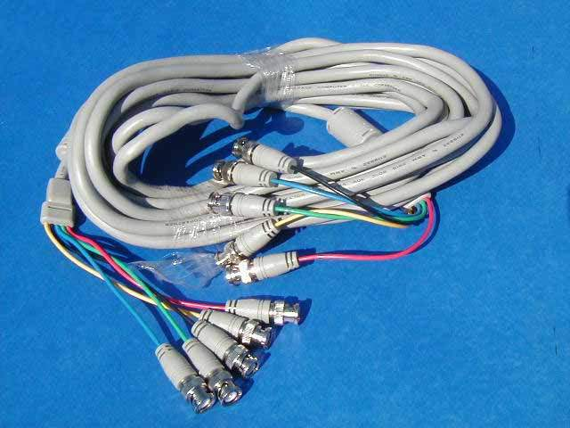 5 BNC to 5 BNC Cable 25FT