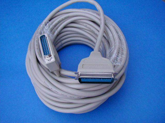 50FT PARALLEL PRINTER CABLE IEEE-1284 A-B