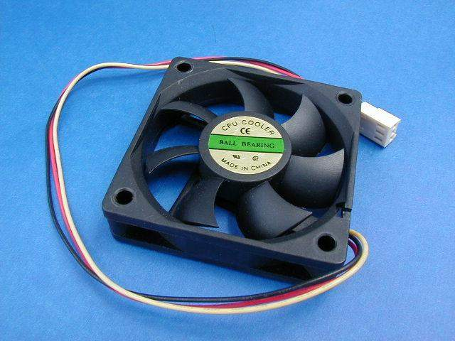 60x60 TOWER CASE FAN BB WITH CABLE 3-WIRE