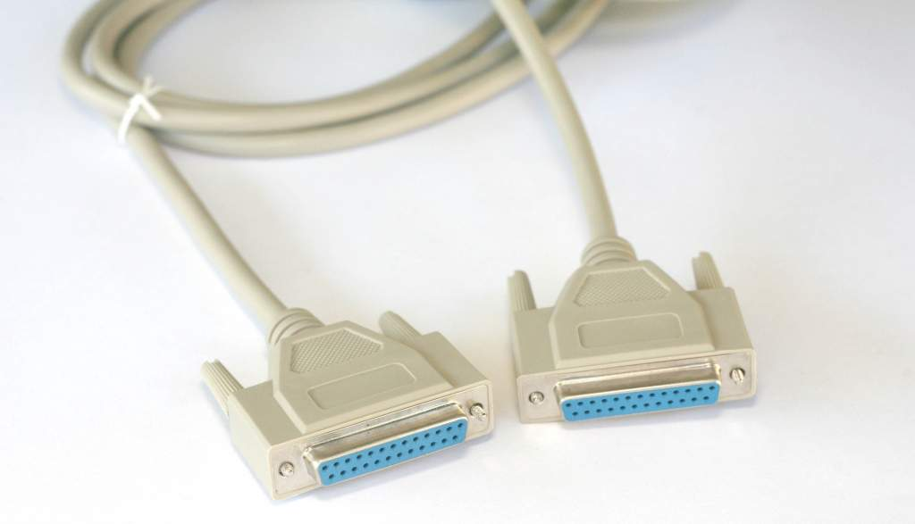 6FT DB25F to DB25F Straight Cable