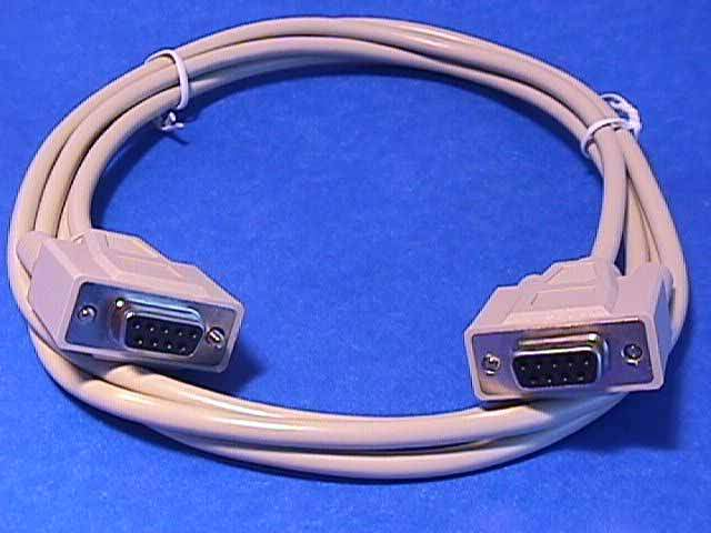 6FT DB9F to DB9F Cable Molded
