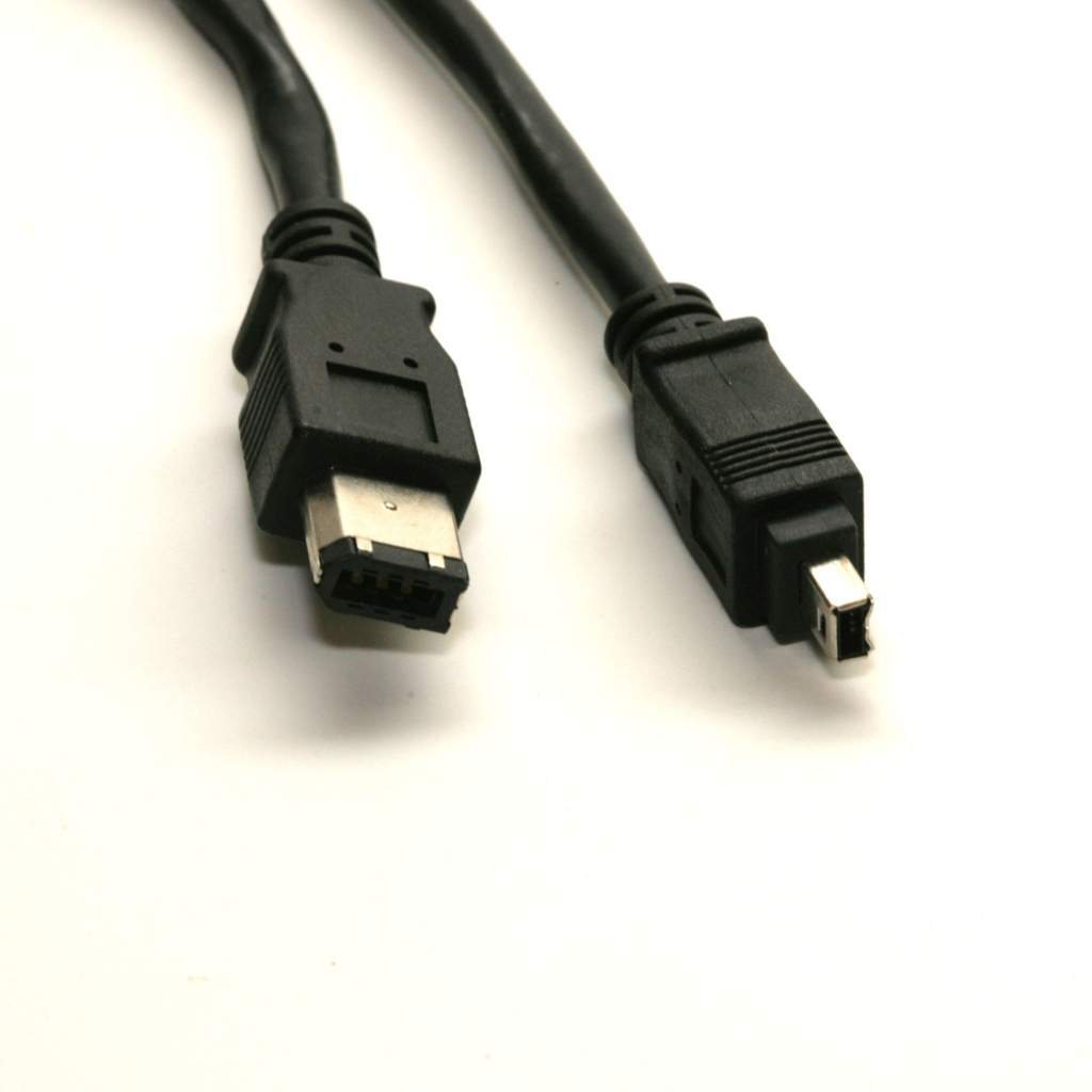 6FT FIREWIRE CABLE 6PIN 4PIN