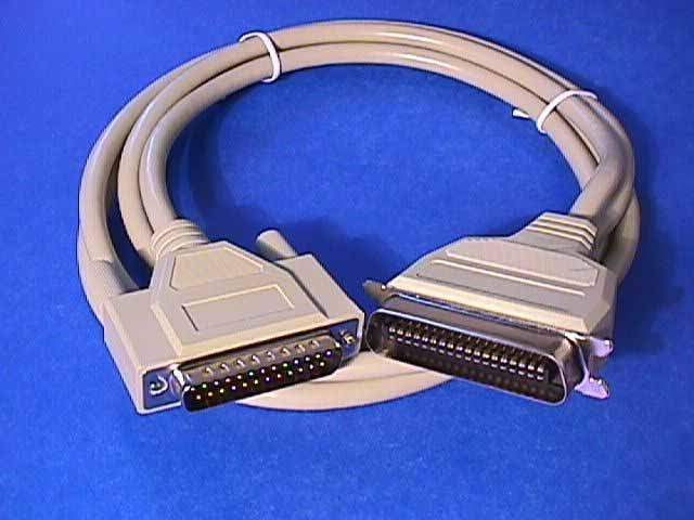 6FT Parallel Printer Cable