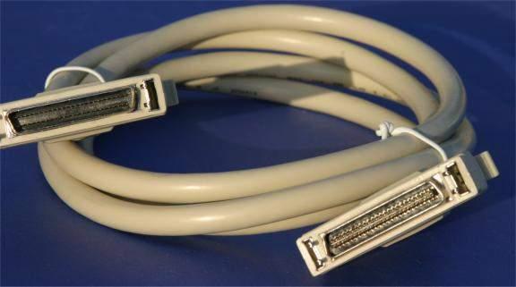 6FT SCSI-II HPCN50-M LATCH TO SCSI-II HPDB50-M FIERY RIP