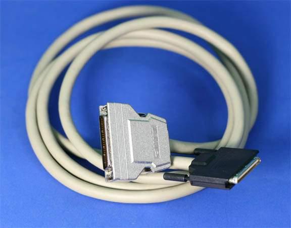 6FT SCSI-IV VHDCI68-M 0.8mm TS to SCSI-II HPDB50 Amphenol