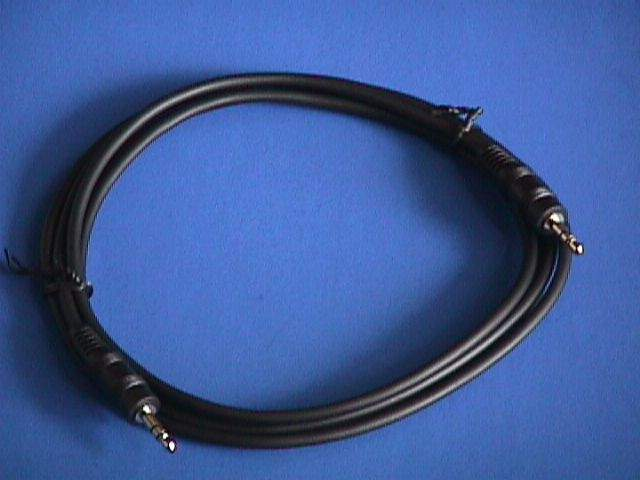 6FT STEREO Cable 3.5mm PLUG PLUG Male to Male