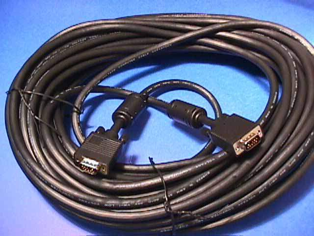 75FT SVGA CABLE MONITOR UL2919 HD15 Male to Male