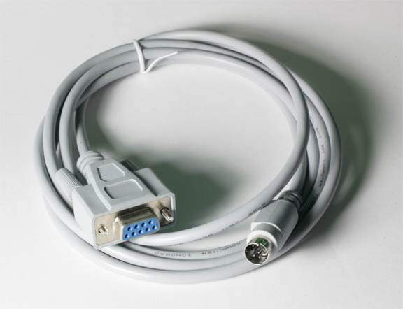APPLE IIGS PRINTER CABLE MiniDin8-M DB9-F