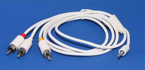 Apple Video Audio Cable for Ipod